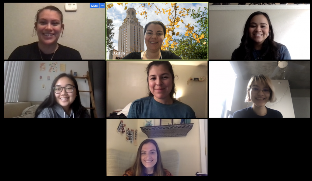 Spring 2020 Zoom Meeting